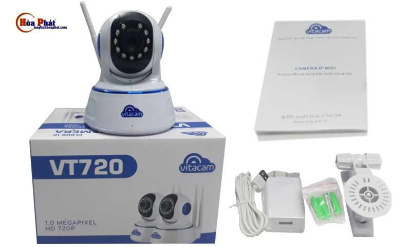 bo san pham day du vitacam vt720 - Camera Vitacam VT720