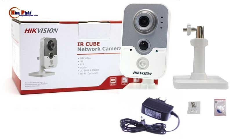 Bộ sản phẩm đầy đủ của Camera HIKVISION-DS-2CD2420F-IW