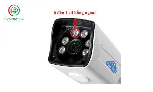 Camera Vitacam VB1080 có đèn hồng ngoại ban đêm