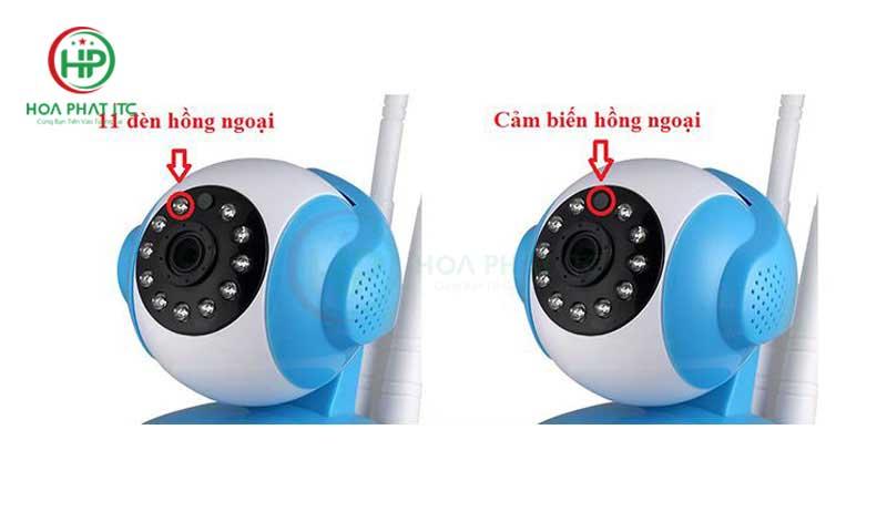Đèn hồng ngoại ban đêm Của Camera Vitacam VT1080