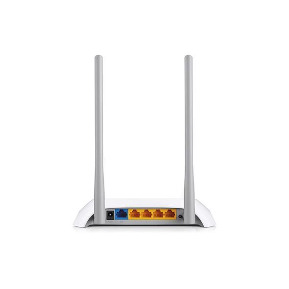 TPlink TL-WR840N Wireless N Mặt Sau