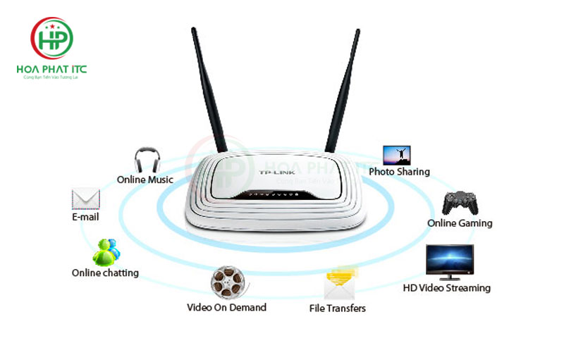 Router TP Link TL-WR841N 300M Wireless N-02