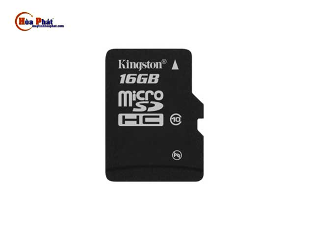 the nho Micro SD Kingston 16Gb - Thẻ nhớ Micro SD Kingston 16Gb