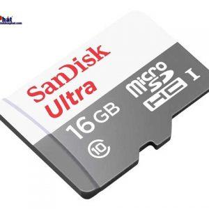Thẻ nhớ Micro SD Sandisk 16Gb
