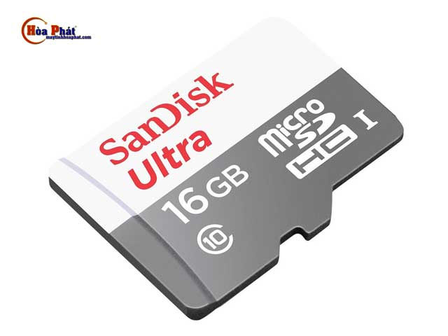 the nho sandisk 16gb - Thẻ nhớ Micro SD Sandisk 16Gb