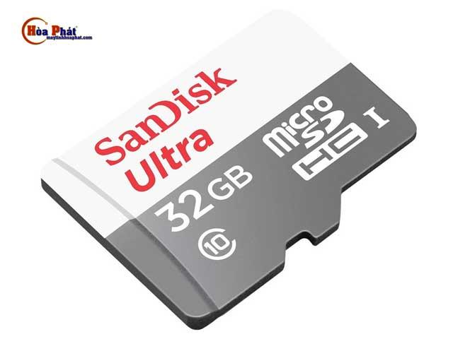 Thẻ nhớ Micro SD Sandisk 32Gb