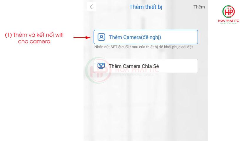 them camera duoc de nghi - Hướng Dẫn Kết Nối Camera Vitacam