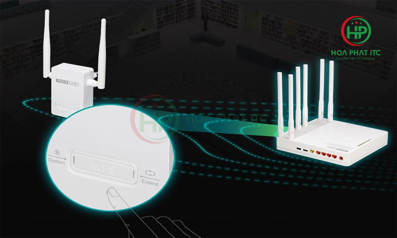 bo mo rong song Wifi Totolink EX200 01 - Bộ Mở Rộng Sóng Wifi Totolink EX200
