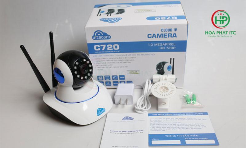 bo san pham day du camera vitacam c720 - Camera Vitacam C720