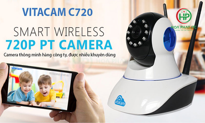 camera thong minh - Camera Vitacam C720