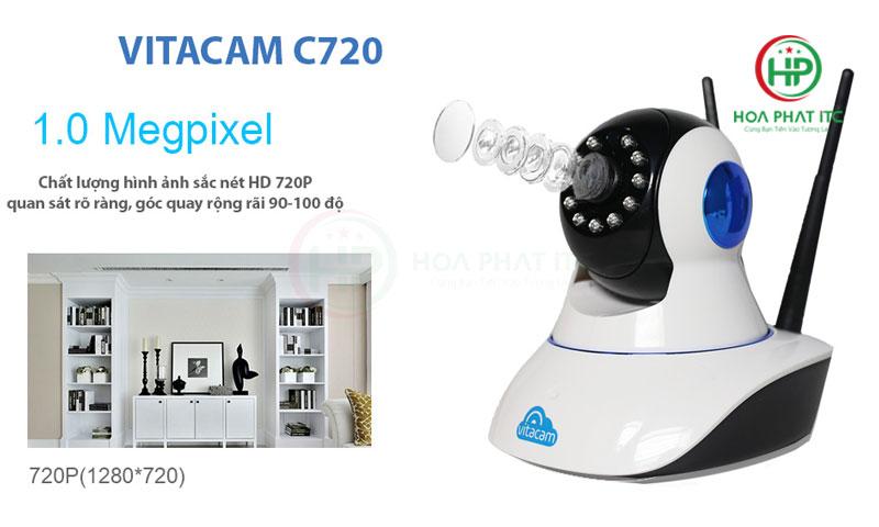 vitacam c720 do phan giai 720 - Camera Vitacam C720