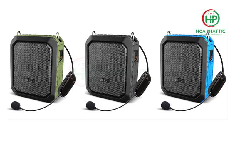 may tro giang khong day SHIDU SD M800 06 - Máy Trợ Giảng Không Dây Shidu SD-M800 wireless