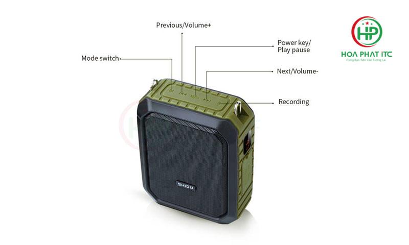 may tro giang khong day SHIDU SD M800 - Máy Trợ Giảng Không Dây Shidu SD-M800 wireless