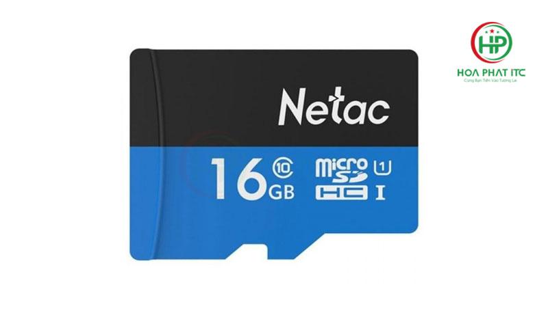 the nho netac 16gb 06 - Thẻ Nhớ Netac 16GB Chuẩn Class 10 Chính Hãng