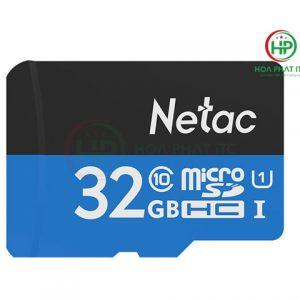 Thẻ Nhớ Netac 32GB Chuẩn Class 10, Tốc Độ 90MB/S