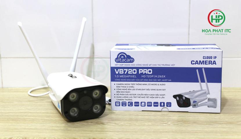 camera vitacam vb720 pro 01 - Camera Vitacam VB720 Pro Ngoài Trời
