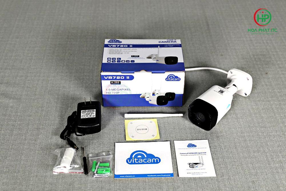 bo san pham day du vitacam vb720ii - Camera Vitacam VB720II ngoài trời