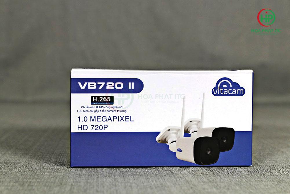 vo hop camera vitacam vb720ii mat truoc - Camera Vitacam VB720II ngoài trời