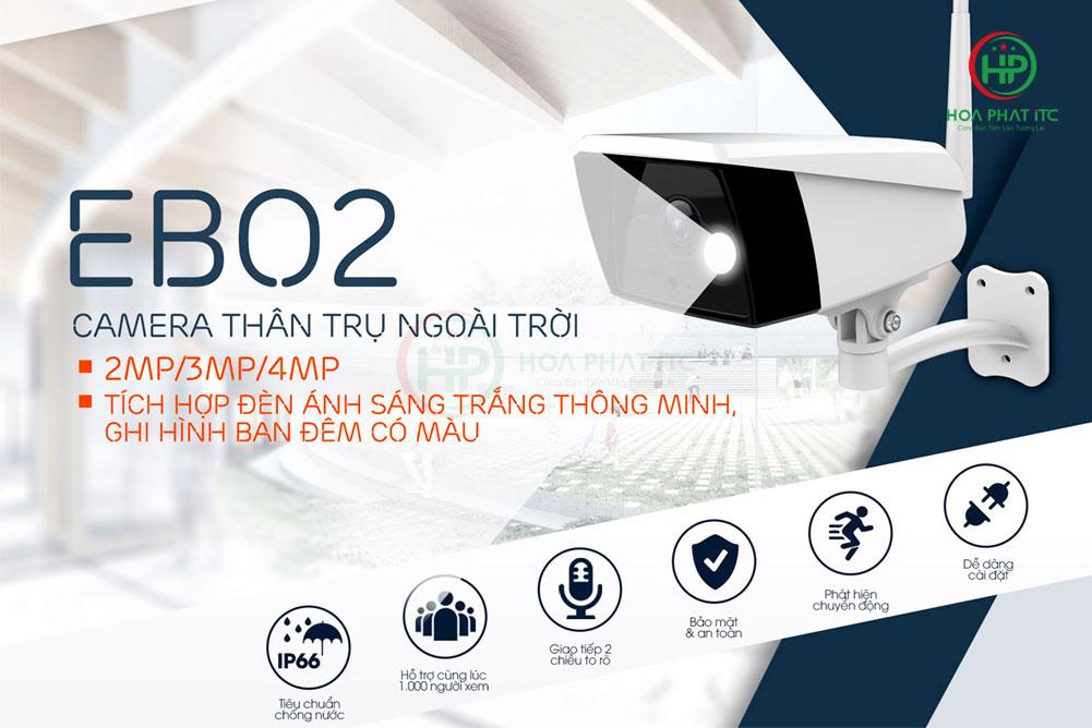 ebitcam EBO2 1 - Camera ngoài trời Ebitcam EBO2 (2MP)