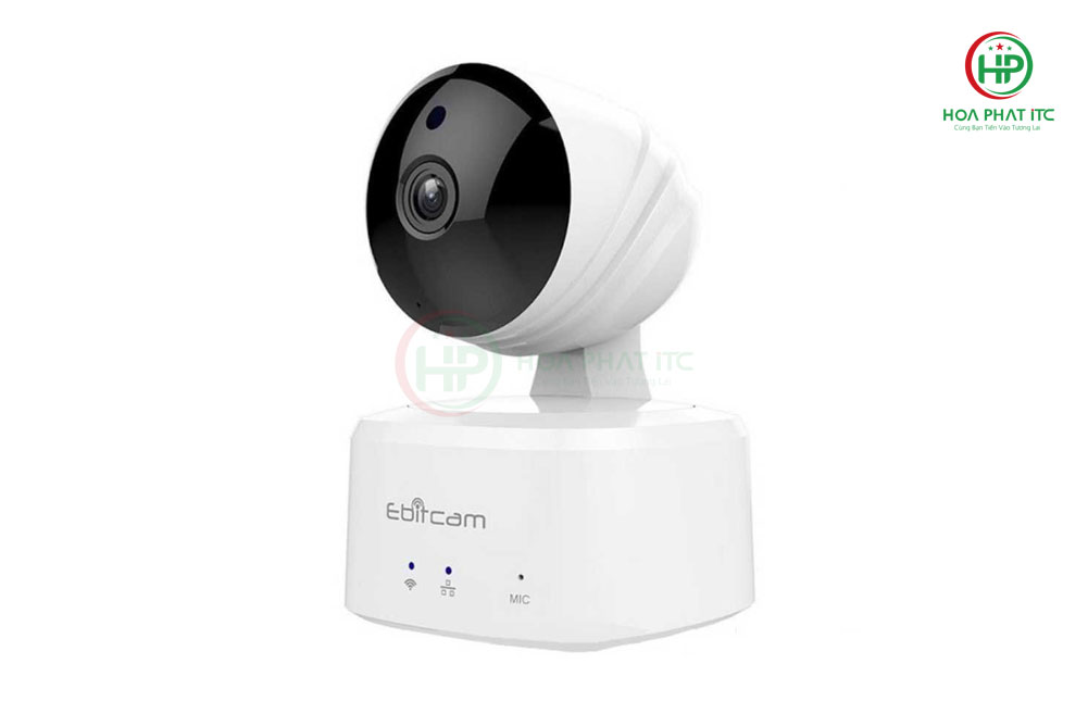 thiet ke dep mat cua camera ip ebitcam - Camera IP Ebitcam E2 (2.0MP) trong nhà