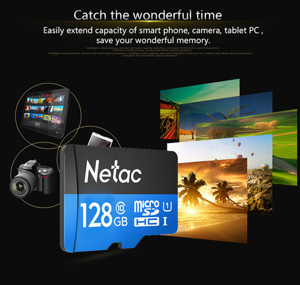 ho tro hau het cac hiet bi ho tro the micro sd - Thẻ Nhớ Netac 128GB Chuẩn Class 10, Tốc Độ 90MB/S