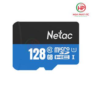Thẻ Nhớ Netac 128GB Chuẩn Class 10, Tốc Độ 90MB/S