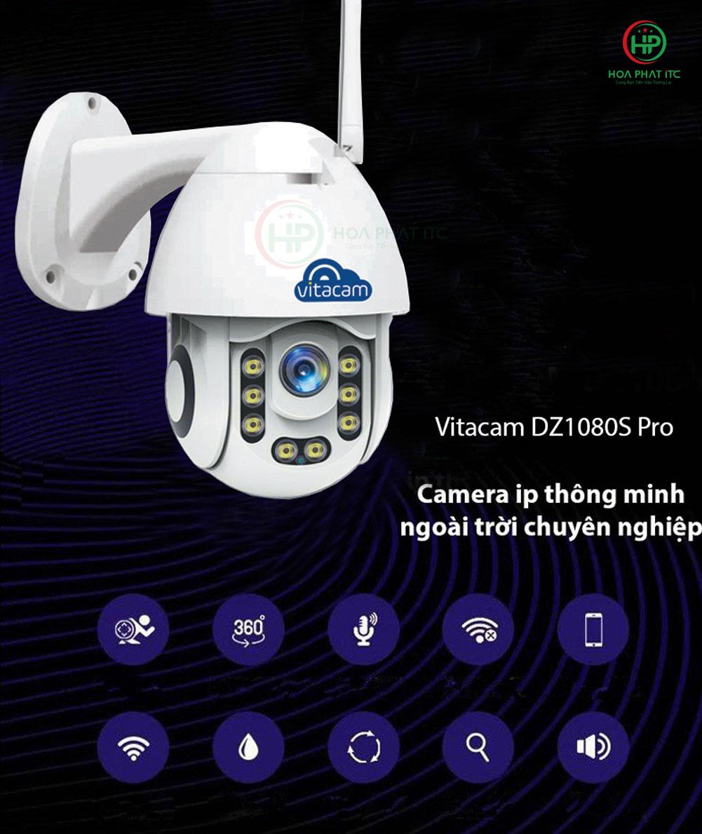 vitacam dz1080s pro 01 - Camera Vitacam DZ1080S Pro ngoài trời