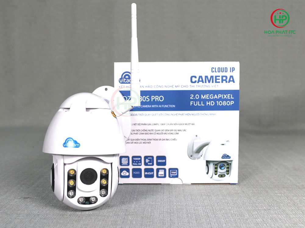 vitacam dz1080s pro - Camera Vitacam DZ1080S Pro ngoài trời