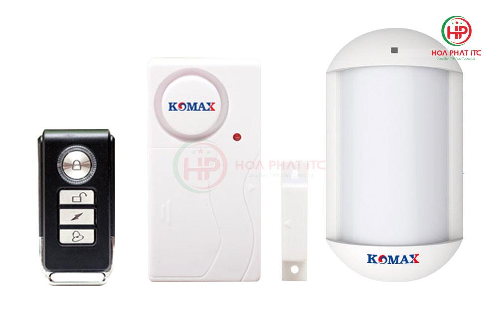 thiet bi chong trom t 45c - Thiết bị chống trộm không dây Komax KM-T45C