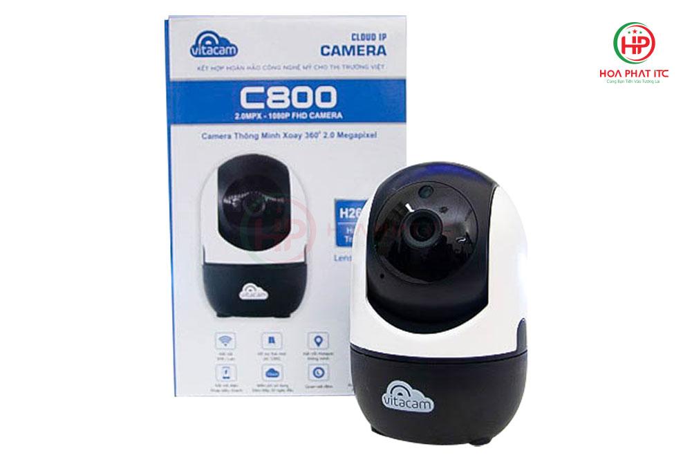 c800 - Camera Vitacam C800 2.0Mpx