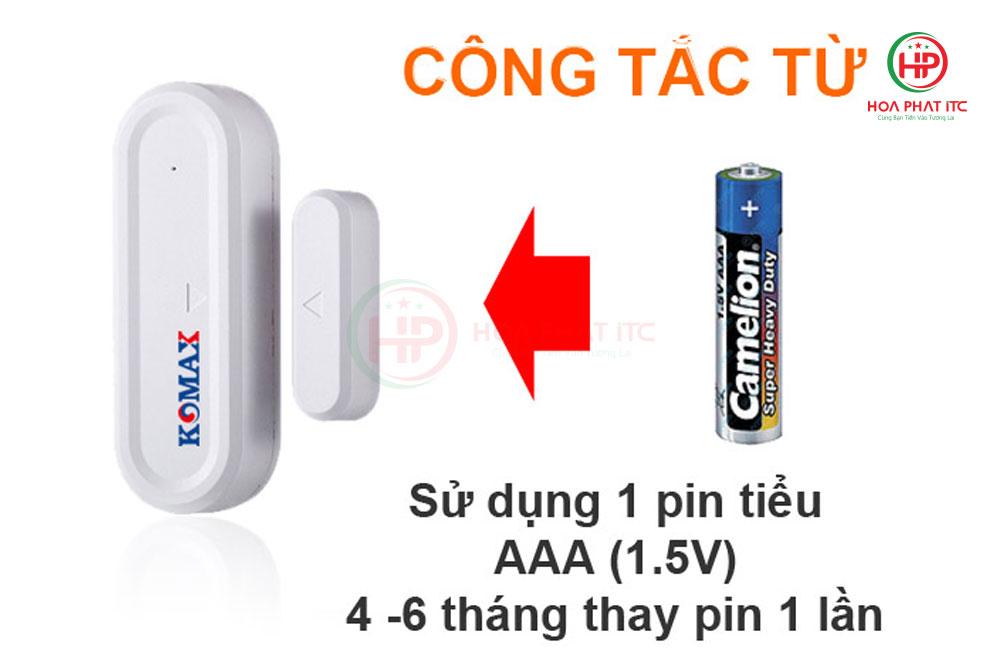 cong tac tu - Bộ chống trộm trung tâm Komax KM-T55