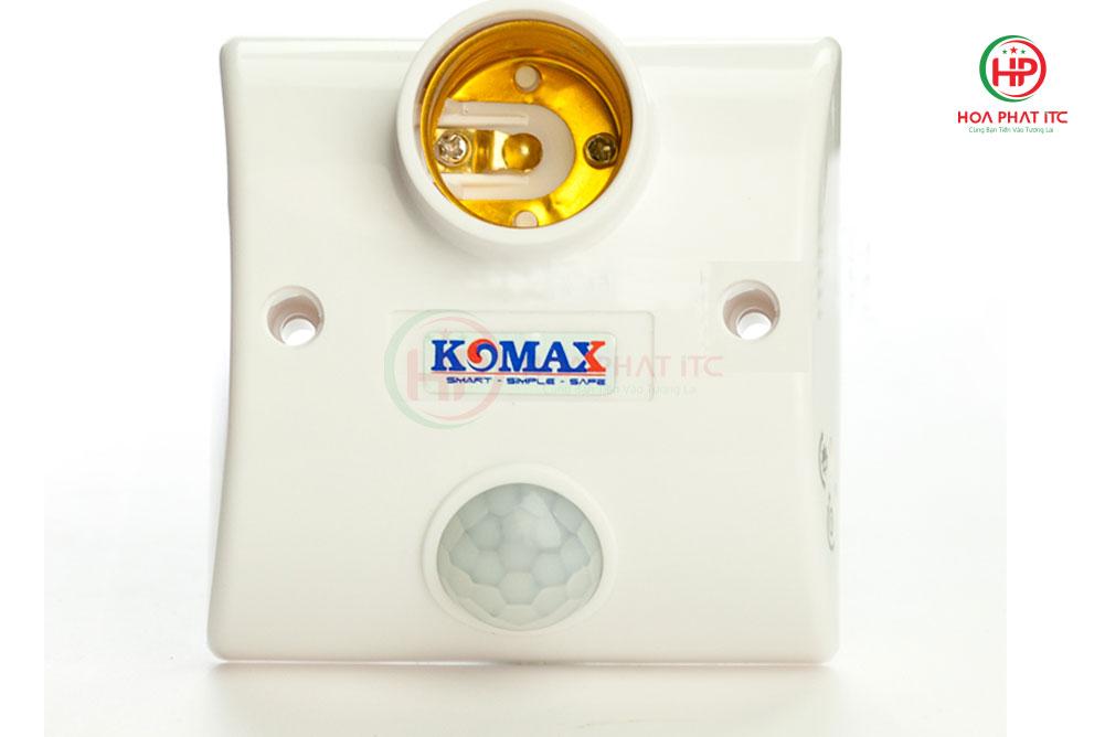dui den cam ung KM S15 - Đui đèn cảm biến chuyển động Komax KM-S15