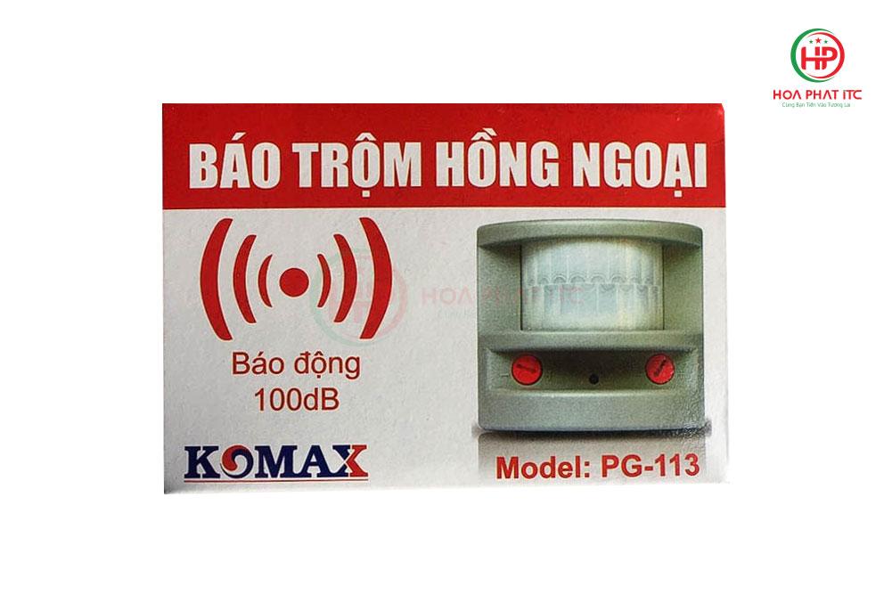 hop duong san pham - Báo động hồng ngoại Komax PG-113