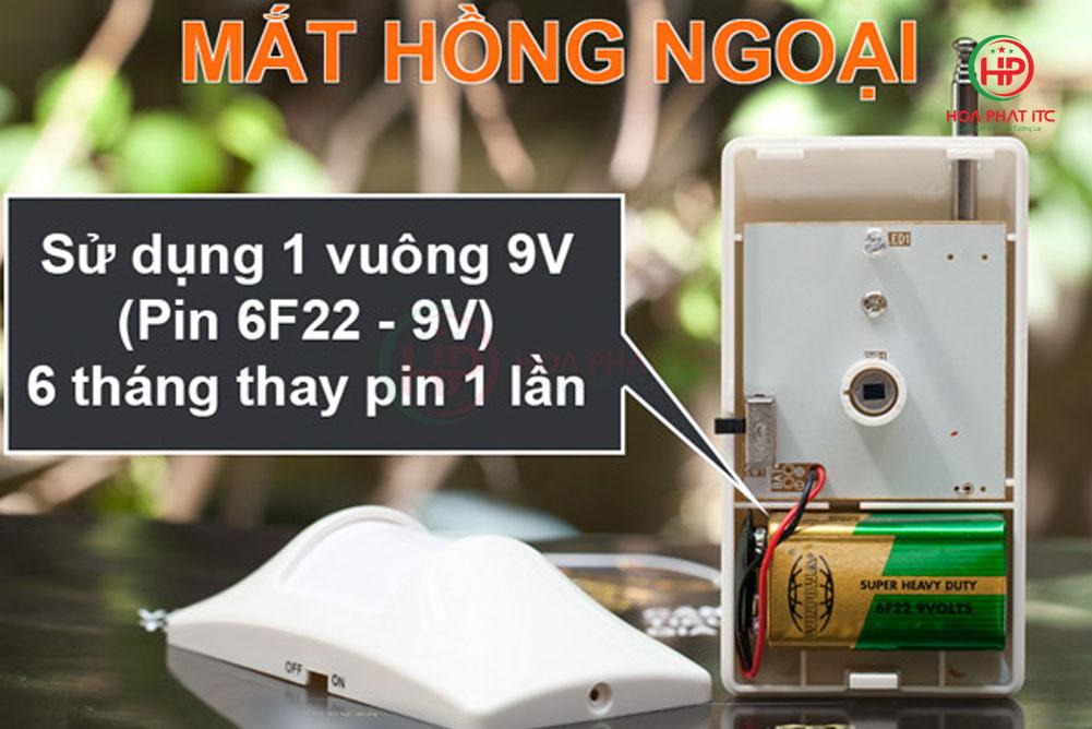 mat hong ngoai - Bộ chống trộm trung tâm Komax KM-T55