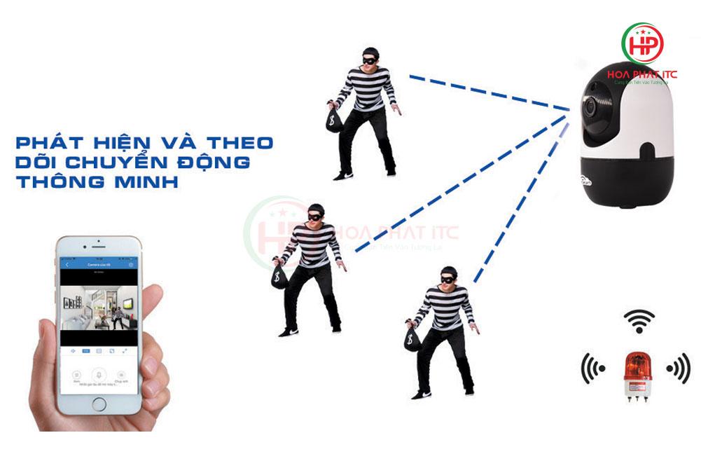 tinh nang phat hien chuyen dong - Cách chống trộm cạy của, đập cửa hiệu quả