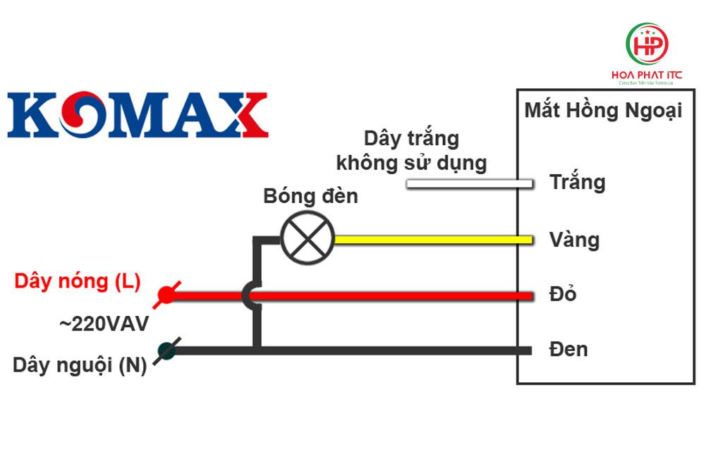 so do lap dat komax km s19 - Mắt cảm biến hồng ngoại Komax KM-S19