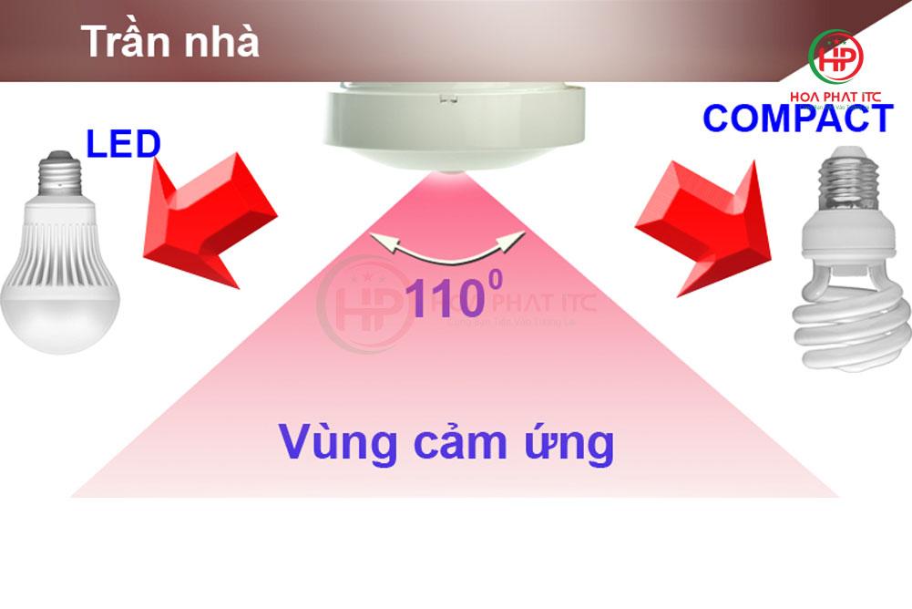 vung cam ung 110 do - Mắt cảm biến hồng ngoại Komax KM-S19