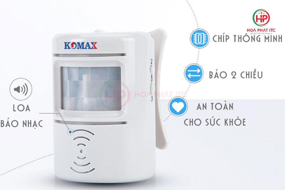 km 008b - Chuông báo khách hai chiều Komax KM-008B