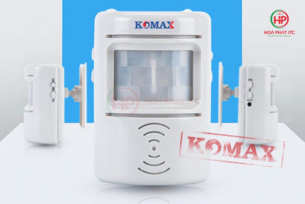 komax km 008b 1 - Chuông báo khách hai chiều Komax KM-008B