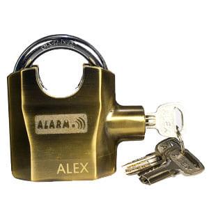 Ổ khóa chống trộm có còi hú K-8325 ALEX