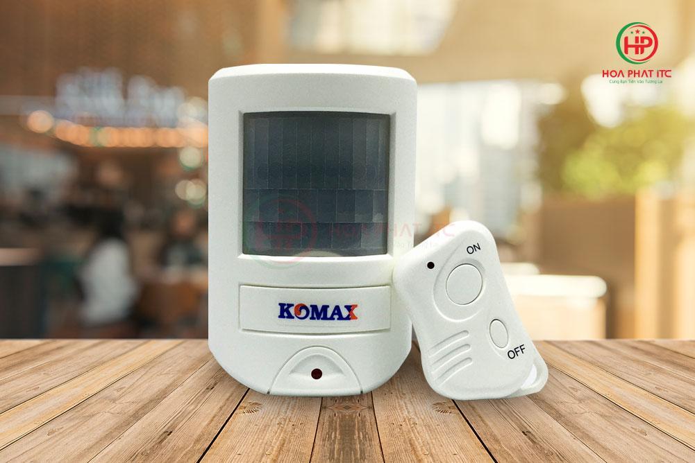 a1a81d0f3990c5ce9c813 - Báo trộm hồng ngoại dùng pin Komax KM-X20 cao cấp