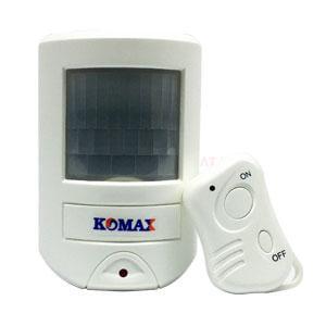 Báo trộm hồng ngoại dùng pin Komax KM-X20 cao cấp