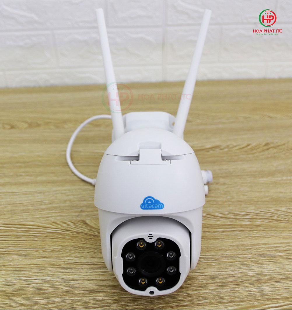 mat truoc camera vitacam dz3000 - Camera Vitacam DZ3000 3.0Mpx PTZ ngoài trời xoay quay quét