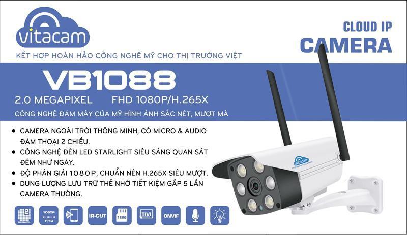8fa1cdfdd5e82ab673f9 - Camera Vitacam VB1088 ngoài trời