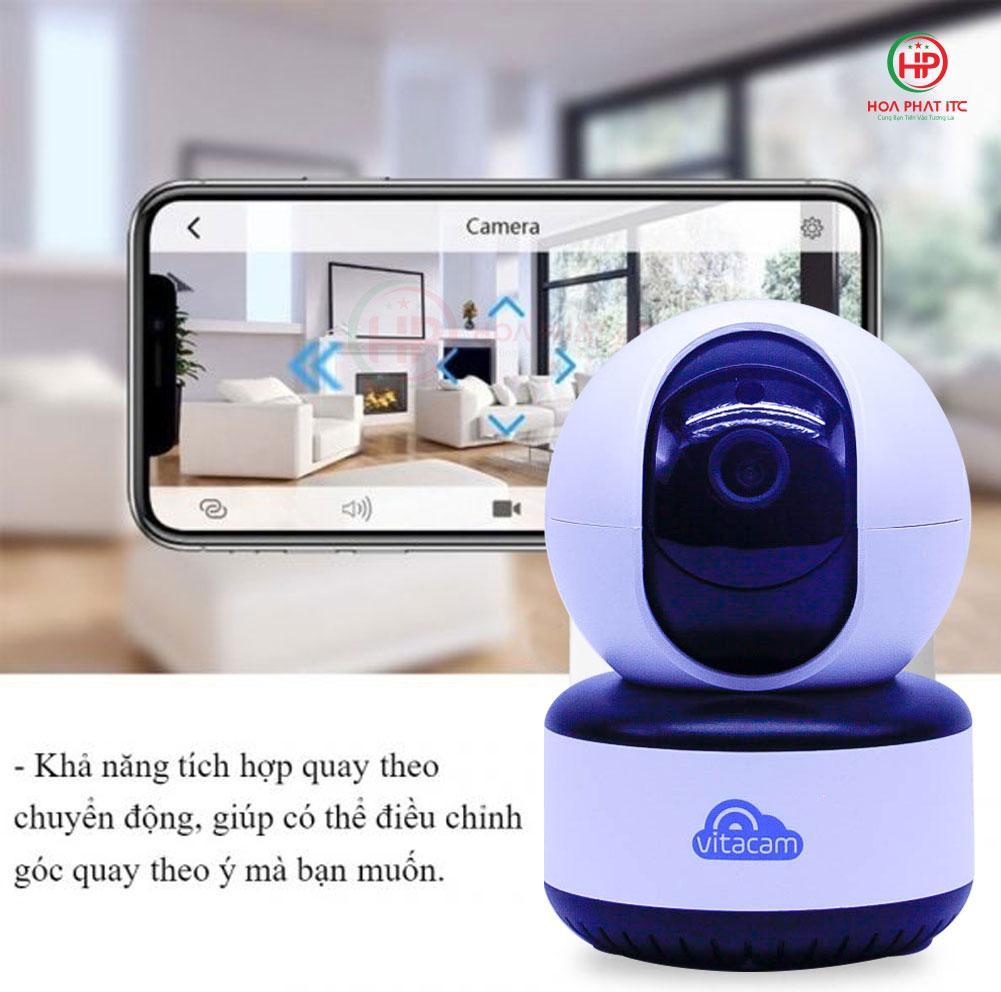 camera vitacamc1080 pro khoa doi tuong - Camera Vitacam C1080 PRO 3.0Mpx