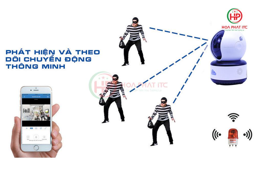 camera vitacamc1080 pro theo doi chuyen dong - Camera Vitacam C1080 PRO 3.0Mpx