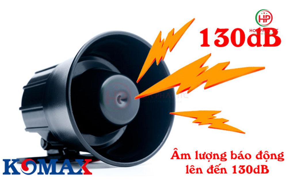 coi hu komax km 628 - Còi hú Komax KM-628 dùng điện 220V