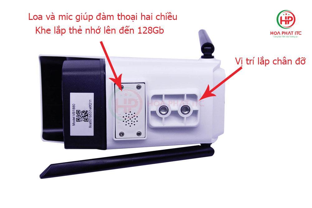 mat sau Camera Vitacam VB1088 - Camera Vitacam VB1088 ngoài trời