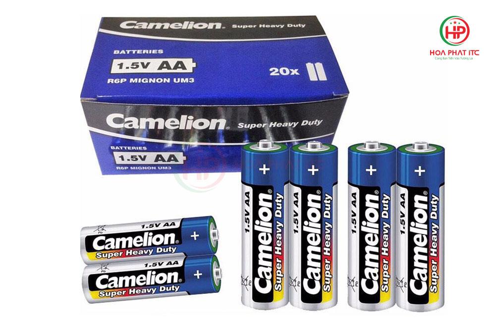 Pin Camelion AAA 1.5V - Pin Camelion Super Heavy Duty Battery AA 1.5V 2 viên