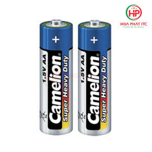 Pin Camelion Super Heavy Duty Battery AA 1.5V 2 viên
